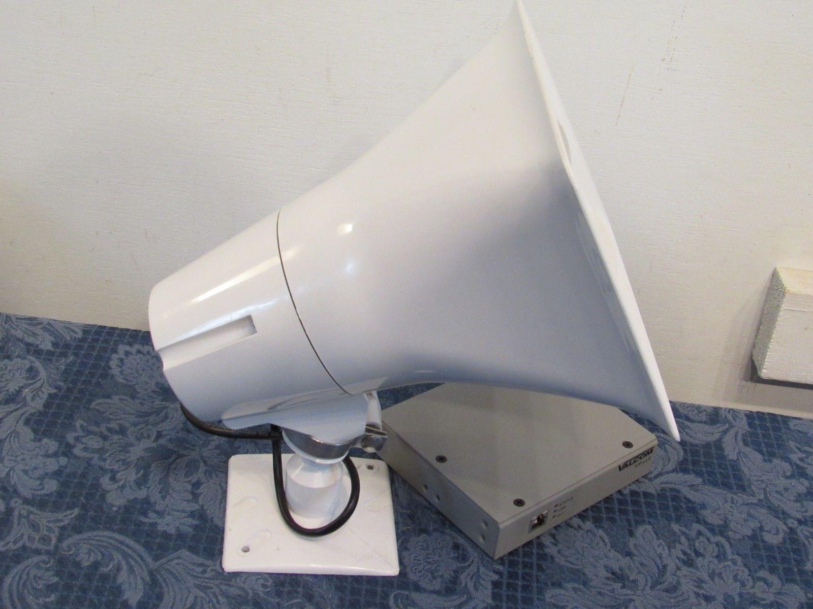 Valcom SA-VIP130-2 Paging Horn Link VIP-130L-M Horn School Surplus Untested