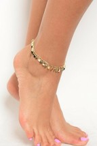 Women Fashion Jewelry Gold Silver Tone Anklet Pom Pom Charms Boho Summer... - $6.97