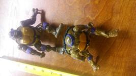 2 Black Ninja Turtles  Vintage Action figures - $20.00
