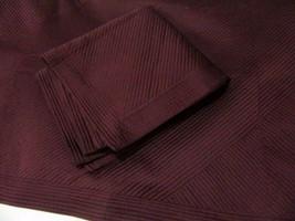 Simply Vera Wang Solid Dark Purple Quilted Stripe King Shams (Set of 2) - $54.00