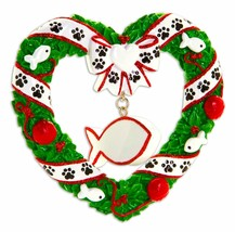 Personalized Christmas Ornament, Cat Ornament - $11.88