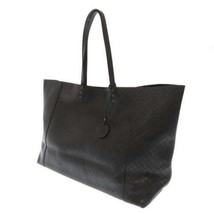 BOTTEGA VENETA Intrecciomirage Papillon Leather Black 298782 Tote Bag Italy - $705.40
