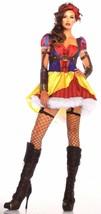 Leg Avenue Rebel Snow White Sexy Halloween Costume Cosplay Dress Headband S M L - $9.99