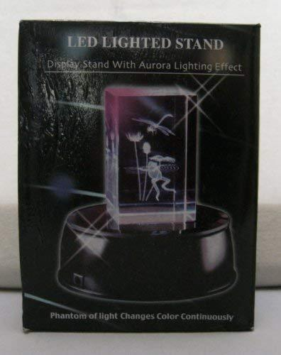 "4"" Round LED Display Stand"