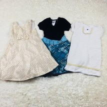 Girls Toddle Size 4 4T Lot of Specialty Dresses Gymboree Bonnie Jean  - $20.54