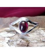 Burn with Desire Garnet Silver Ring Talisman Sexual Allure Attraction Pagan - $65.00