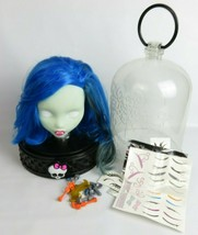 Monster High Ghoul Styling Head doll Display Case with accesories Just P... - $41.00