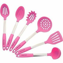 Pink Cooking Utensil Silicone Spoon Laddle Heat Resistant Professional M... - $51.98