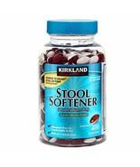Kirkland Signature Stool Softener Docusate Sodium 100 Mg, 800 Softgels/2... - $26.59