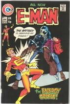 E-Man Comic Book #3, Charlton Comics 1974 VERY FINE+ - $10.69