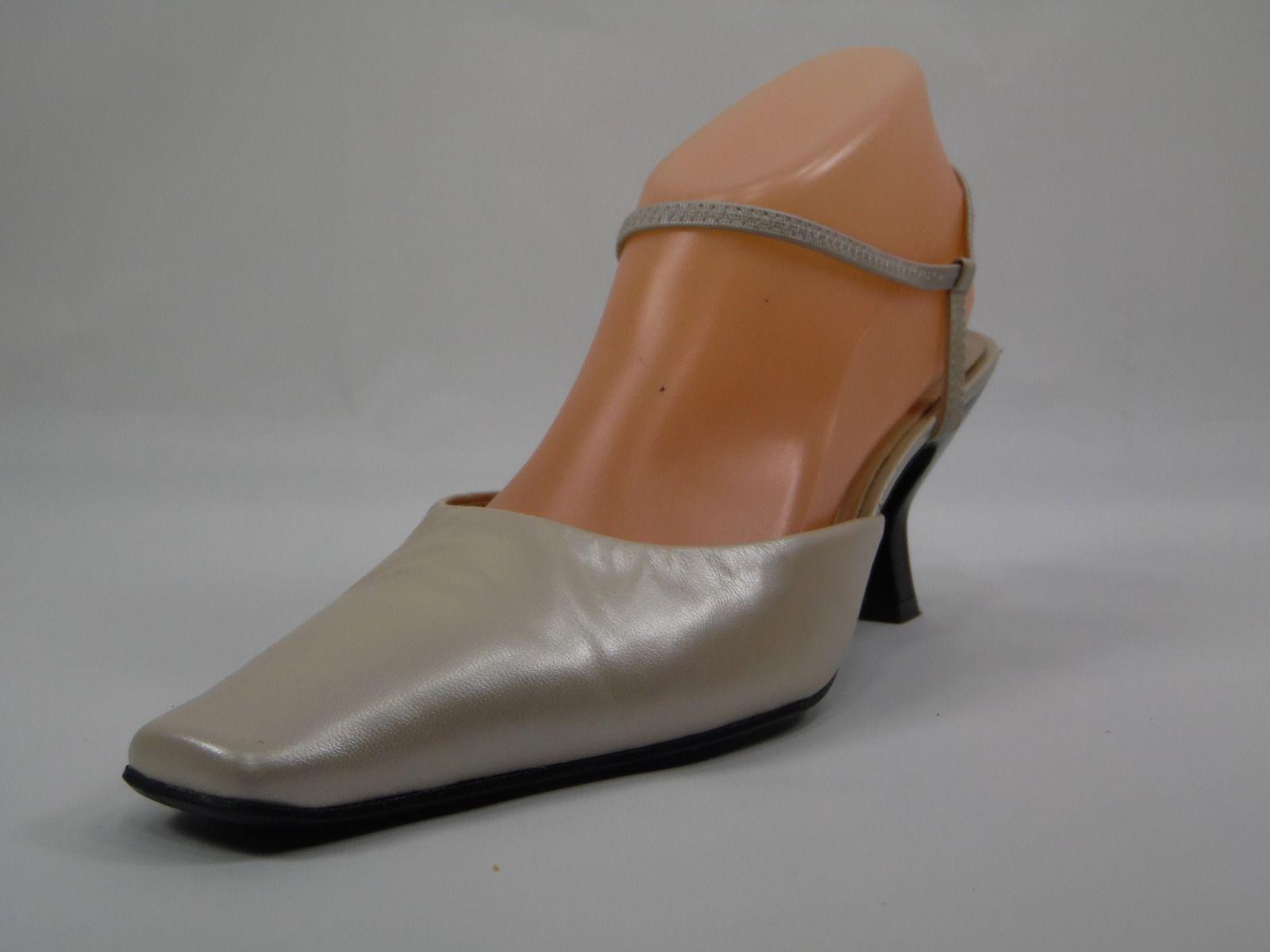 edf690b4e3 S l1600. S l1600. Previous. Villager a Liz Claiborne Company Sandals Closed  Toe Strappy Heels Beidge 10M