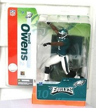 Terrell Owens Philadelphia Eagles NFL McFarlane Action Figure NIP NIB T.O. new - $29.69