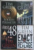 Lot 4 Tim Green thriller HC/DJ 4th Perimeter, 5th Angel, First 48, Exact... - $4.65