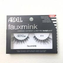 Ardell Faux Mink False Eyelashes #814 Black New - $4.99