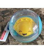 Fisher-Price Hello Sunshine Rattle Ball Infant Toy 9 Months+ NWT - $9.89