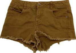 Forever 21 Women's brown booty Denim shorts size 27 - $37.74