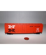 Vintage NEW HAVEN HO Scale Red Train Car Model #35688 Black & White Letters - $8.99