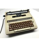 Vintage SMITH CORONA TYPEWRITER Correction Electric II Portable with Case  - $78.20
