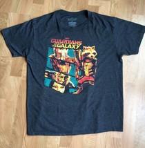 XL Marvel Guardians of the Galaxy Licensed T-Shirt Gray Comic Superheroe... - $11.29