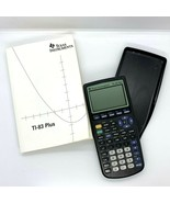 Texas Instruments TI-83 Plus Graphing Calculator With Case and Manual  - $32.66