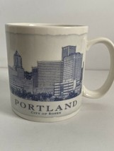 2006 Starbucks PORTLAND City Of Roses Architect Series Coffee Tea Mug Cu... - $25.00