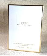 Love, Ralph Lauren Eau de Parfum Spray - 1.0 oz. - Sealed Box - $64.99