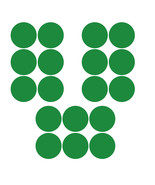 LiteMark 3.5 Inch Green Removable Dot Decal Stickers for Floors and Wall... - $19.95