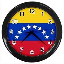 Venezuela Flag Wall Clock - $18.29