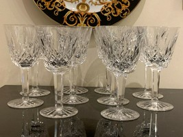 Waterford Lismore Claret Wine Set of 10 - $200.00