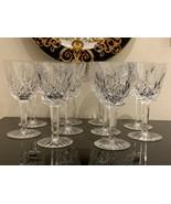 Waterford Lismore Claret Wine Set of 10 - $200.00