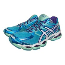 Asics Womens Gel-Euate 3 Running Shoes Blue T566N Mesh Low Top Sneakers ... - $34.64