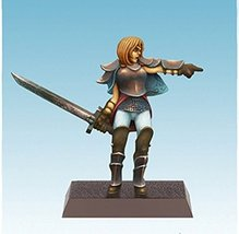 Spellcrow Female Human with Sword