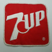 7 UP Square Patch Red & White 5.5 Inches - $29.09