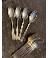4! Holmes & Edwards 1923 CENTURY Silverplate inlaid Oval Tablespoon 3 Se... - $19.55