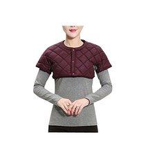 Short Sleeve Neck and Shoulder Warmer Suitable For Parents - $20.66