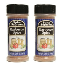 2 Spice Supreme® Barbecue Spice USA MADE cooking BBQ grill baking spice - $10.21