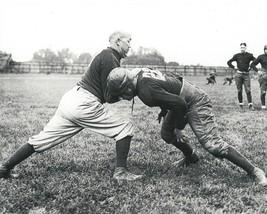 Knute Rockne 8X10 Photo Notre Dame Fighting Irish Ncaa Football Practice - $3.95