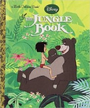 The Jungle Book (Disney The Jungle Book) (Little Golden Book) - $2.92