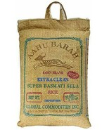 AAHU BARAH SUPER BASMATI SELA RICE Arroz 10 LBS - $30.58
