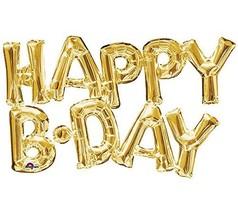 "Amscan 3375901 ""happy Birthday"" Super Shape Foil Balloon #afd - $10.19"