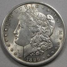 1896-P Morgan Dollar NCH UNC Coin AF203 - $47.34