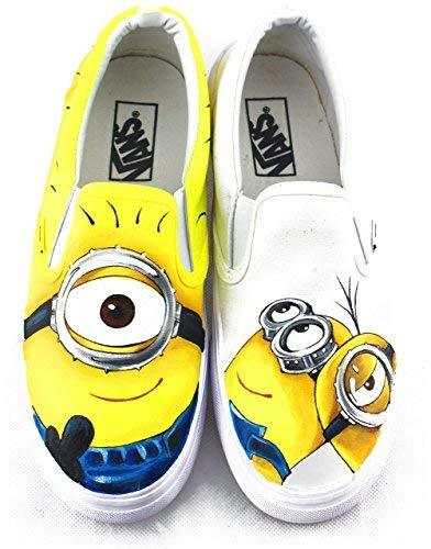 38f96127cdf Minions Vans Despicable Me Hand Painted and 50 similar items