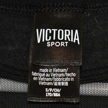 Victoria's Secret Victoria Sport Women's Black Illusion V-Neck Tank Top Size S image 4