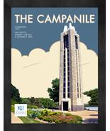 "Kansas Jayhawks ""The Campanile"" 13 x 16 Art Deco Framed Print  - $39.95"