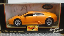 MAISTO Lamborghini Murcielago 1:24 Die Cast Car New in Box Special Editi... - $33.25