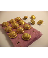 Civil War Veterans' Button Group Original GAR  RARE NEW old stock Lot of... - $149.54