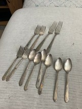 Monarch Plate Silverware Lot Of 12 Free Shipping - $19.99