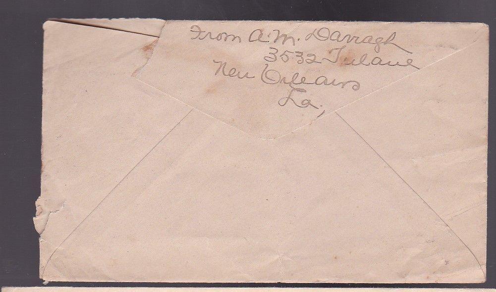 NEW ORLEANS, LA OCTOBER 26 1918