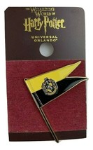 Universal Studios Wizarding World Of Harry Potter Hufflepuff Banner Pin - $12.47
