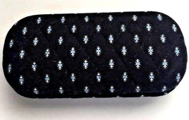 "Vera Bradley Hard Eyeglass Case in retired ""Alpine Black"" - $16.82"